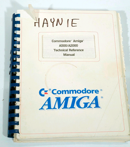 dave haynie s museum of amiga hardware lemon amiga forum rh lemonamiga com amiga hardware reference manual third edition Military Vehicle Reference